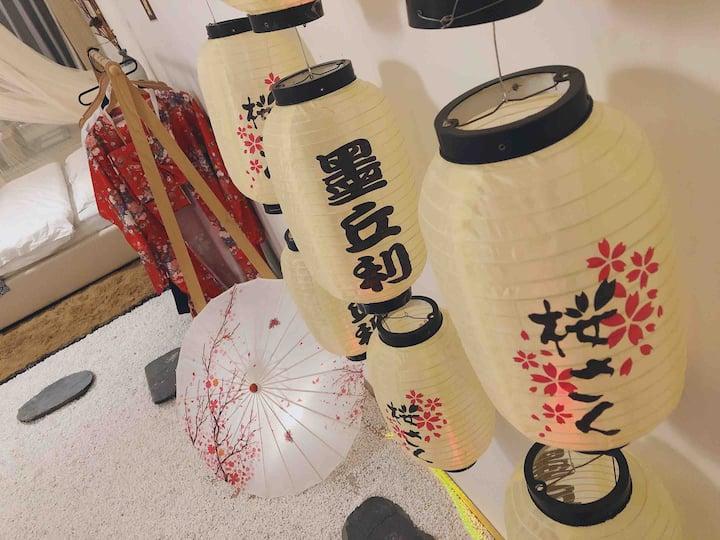 【日式樱花房】—带你看一场永不凋零的樱花🌸