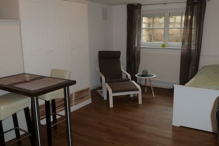 Helles Appartment 33 m², Küche, Bad, WLAN u. mehr