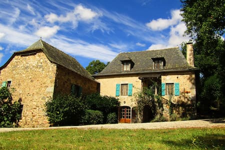A stunning farmhouse in the heart of the Averyon - La Fouillade - Дом