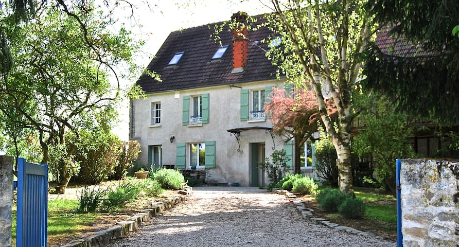 18th century cottage 1h from Paris - Priez - Cabaña