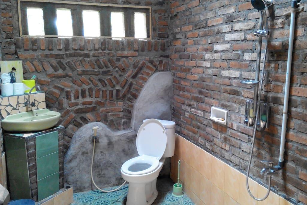 Bathroom no hot water