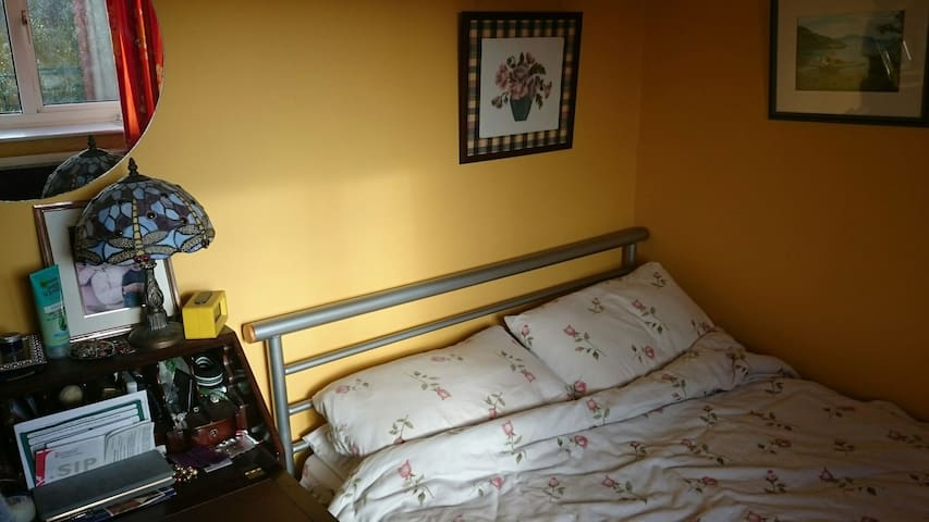 Small room with a double bed. - Gloucester