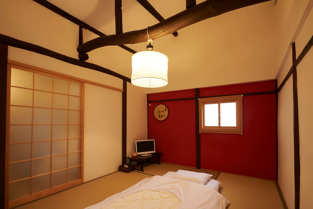 Our guesthouse is newly reformed. 新しくリフォームされたゲストハウスです。