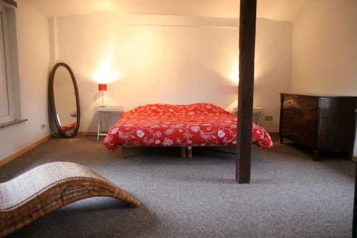 Chambre n°1 - 2 lits simples, convertible en lit double