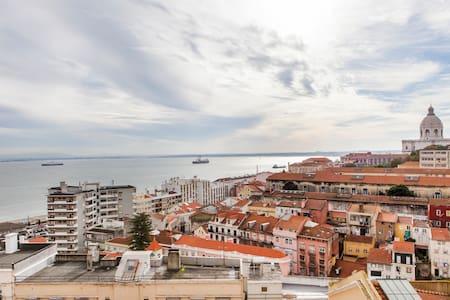Lisbon best view apartment ALFAMA D - Lissabon - Lejlighed
