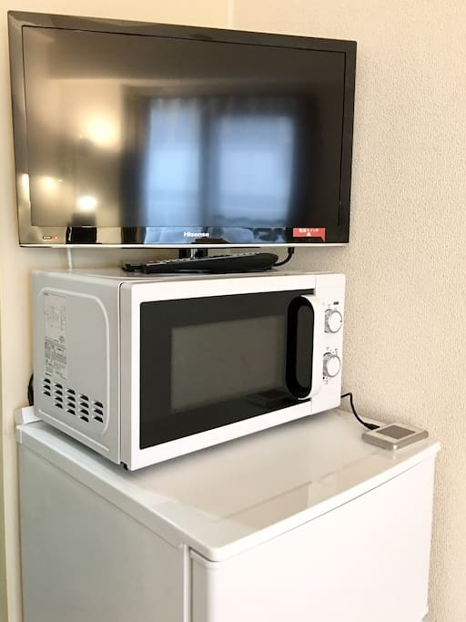 LED TV, microwave oven, 2-door refrigerator