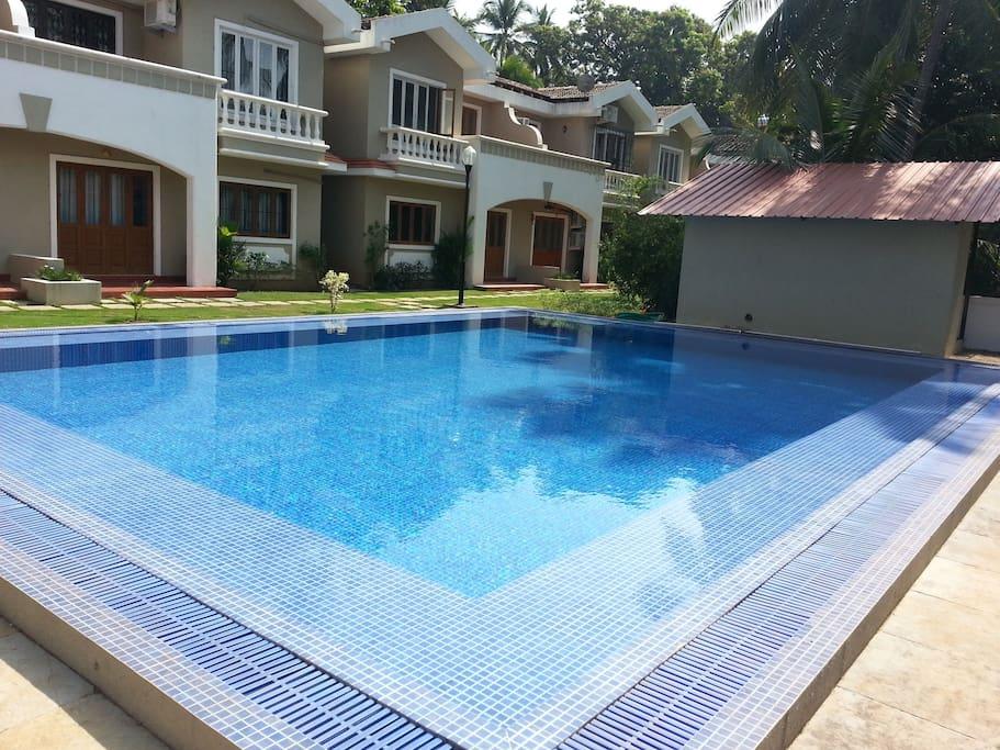 Aquamarine Holiday Villa 2 Villas For Rent In Arpora