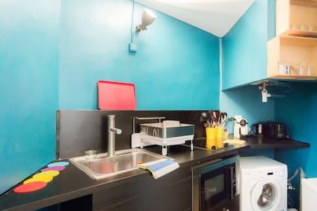 studio duplex 1 p. wifi Aix centre - Appartement