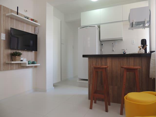 Flat na Beira-Mar em Fortaleza/CE - Fortaleza - Apartment