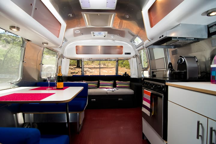 Airstream 'Glamping' in Andalucia!