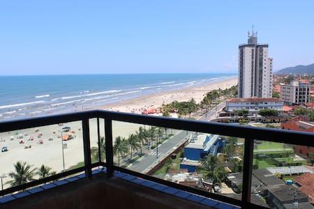 Apartamento na Praia Grande em frente ao mar - Praia Grande - 公寓