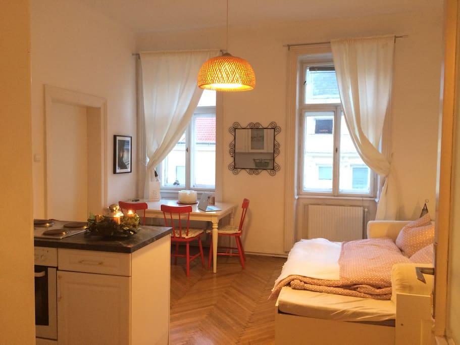 bedroom one - studio