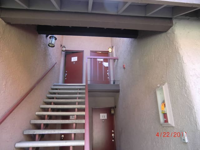 Unit is upstairs unit there is no elevator