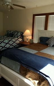 Spacious bedroom with two beds and a private bath - Panama City - Haus