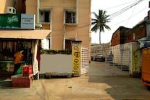 Laxmi Kutir Apartment entrance.