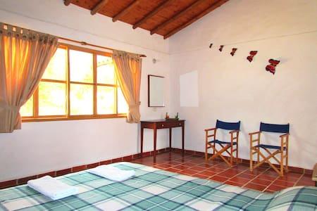 Ecoposada Viñedo/Habitación&Baño Pr - Los Santos - Bed & Breakfast