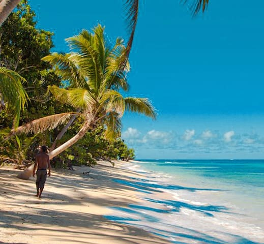 Qamea Island Private Beach Double  - off Taveuni