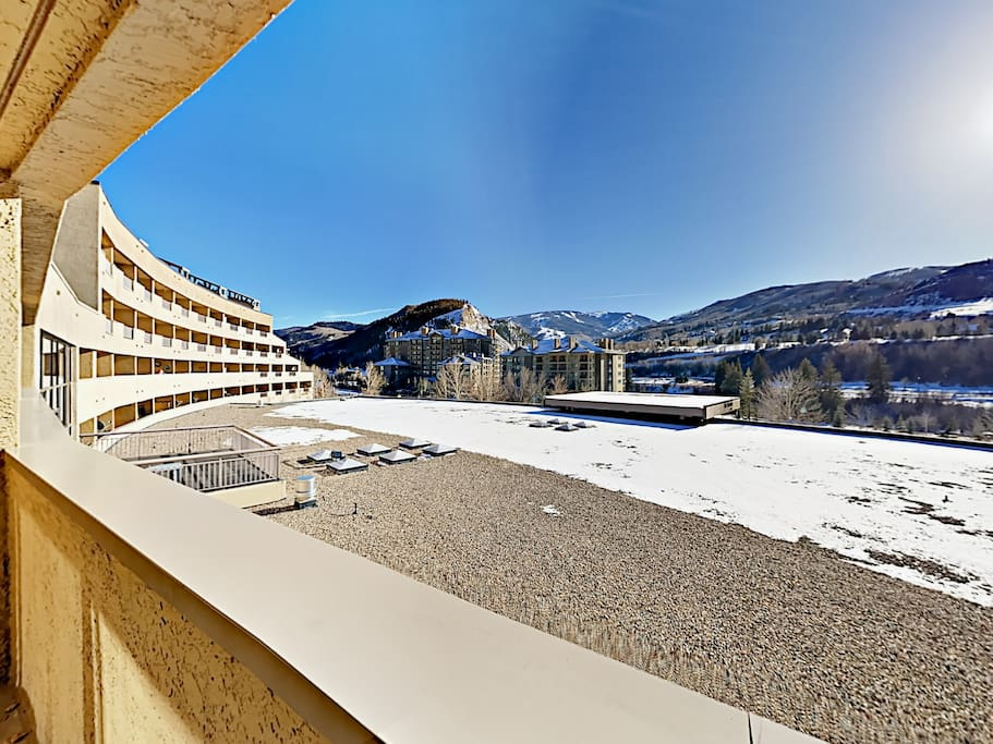 Enjoy Beaver Creek views from your cozy condo. Professionally managed and maintained by TurnKey Vacation Rentals.