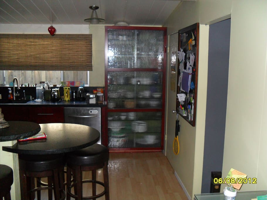 The Kitchen Dishes Cabinet