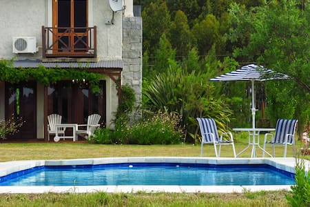 COUNTRY HOME - RIVER BEACH + POOL - Maldonado - Cabana