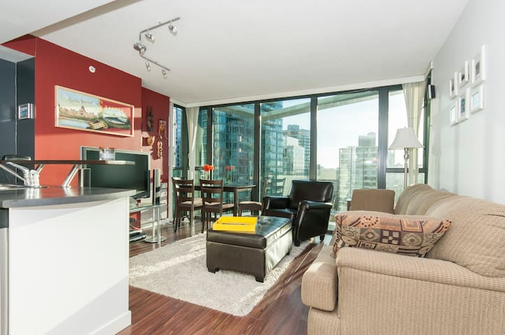 1 BD Coal Harbour condo in the city centre