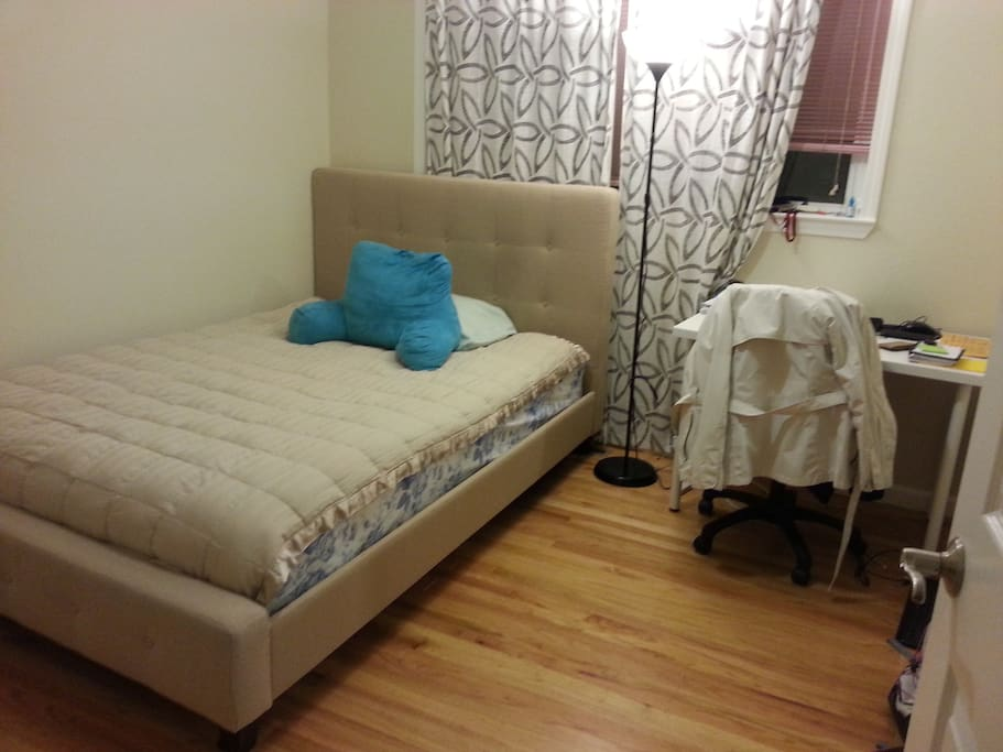 Available bedroom comes furnished
