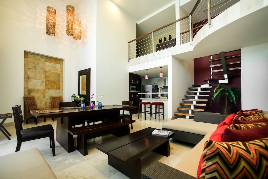Wonderful loft fully furnished