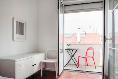 Lisbon centre. room for 2 - 里斯本