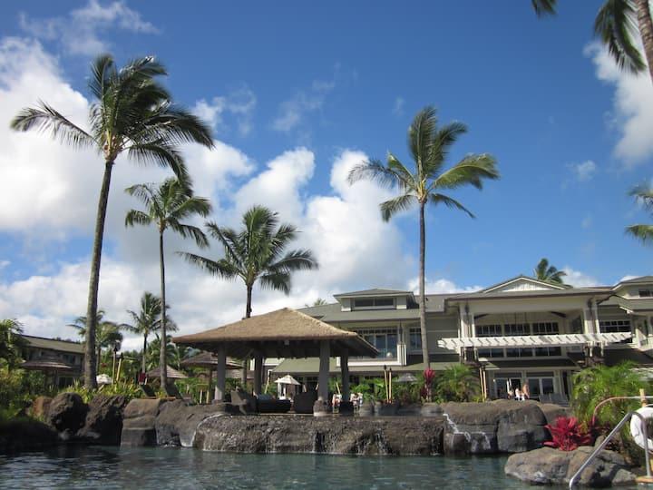 Princeville Ocean Resort Villas, 2 Rooms,  Kauai