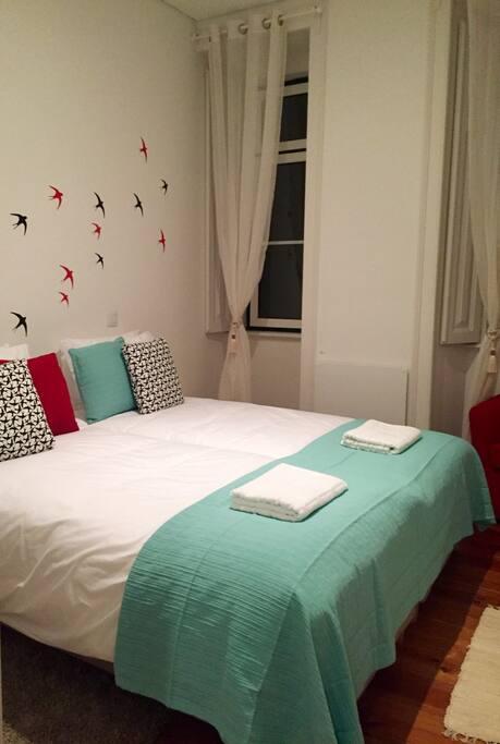 Qto. de Casal Couple Bedroom