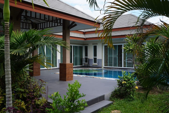 3 bdr in gated village with pool