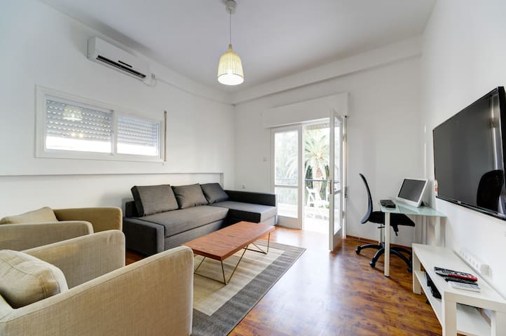 Park view, 3 rooms, 2 balcony,75sqm - Tel-Aviv-Yafō - Pis