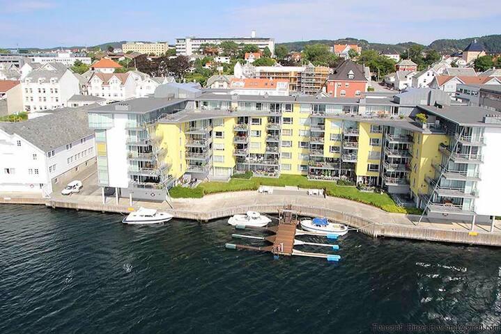 Apartment by the sea in Haugesund - Haugesund - Daire