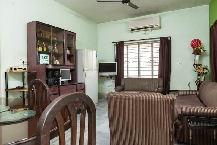 Well maintained Guest House in Salt Lake Kolkata