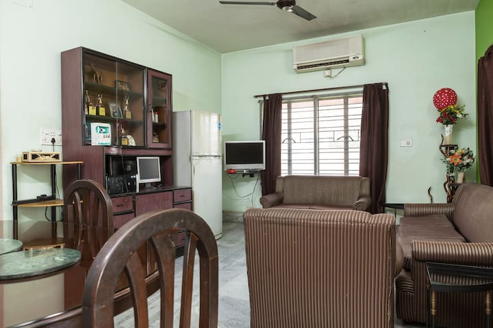 CORPORATE GUEST HOUSE IN SALT LAKE - Kolkata - Apartment