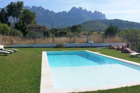 Estilo y Relax a los pies de Montserrat - Sant Cristòfol - Loft