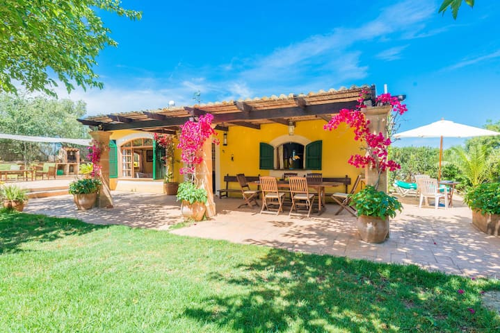 SA MARJAL - Chalet with private pool in MURO.