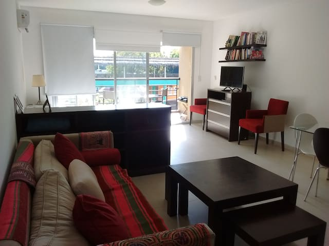 48 mts studio, full of light Excellent location! - Tigre - Apartment