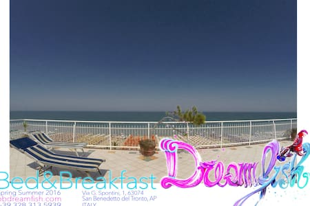 Argonaut Room, beach front, attico con panorama - San Benedetto del Tronto - Bed & Breakfast
