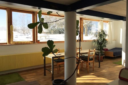 Nice bright studio, Switzerland - Saignelégier - 阁楼