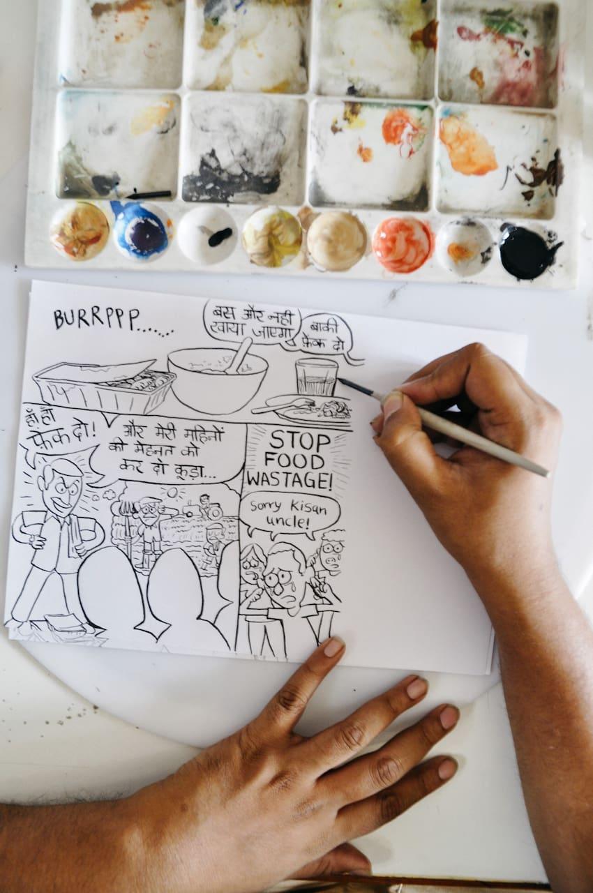 Delhi Doodle