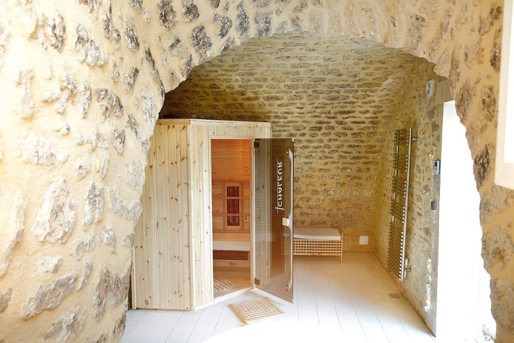 Sauna open 24/24h