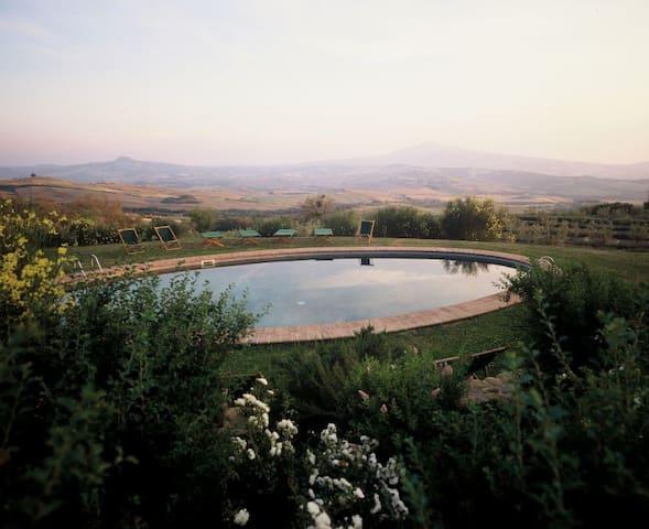 Appartamento Tiglio a Chiarentana, Val d'Orcia - Chianciano Terme - Apartemen