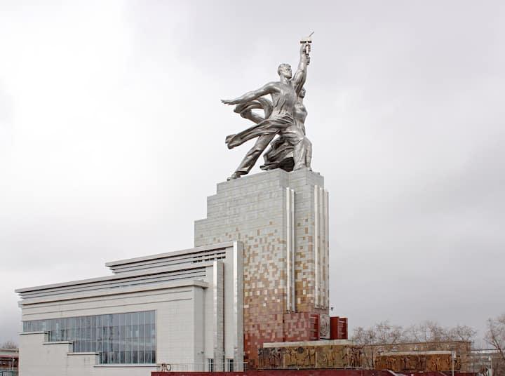 Monument at VDNKh