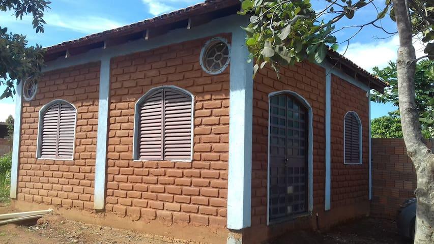 Casa para feriados e fins de semana em Cavalcante - Cavalcante - กระท่อมบนภูเขา