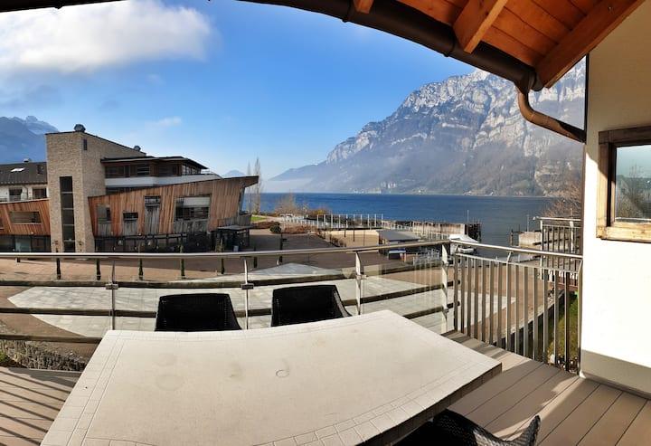 2-stöckiges Penthouse am See direkt beim Skigebiet