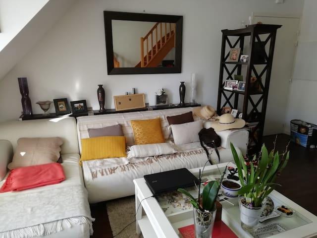Duplex dans résidence très calme