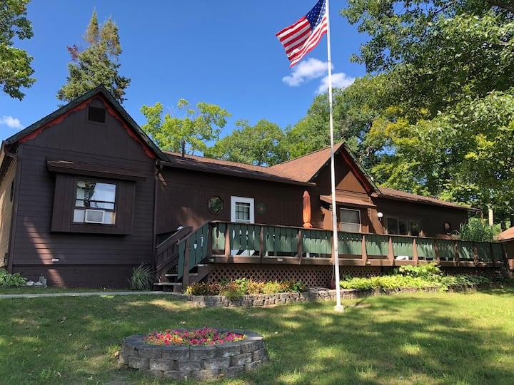 Where the Glen Lakes meet: Hill Haven Main House