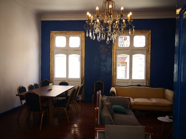 Private rooms in beautiful CerroAlegre Valparaiso3