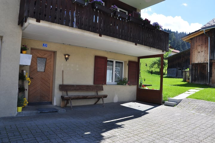 Wohnung in Obersaxen/Mundaun (Flond)